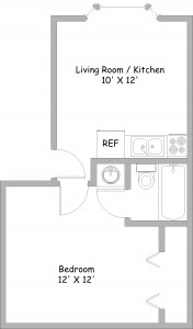 1 Bed