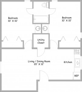 2 Bed, revised 11-22